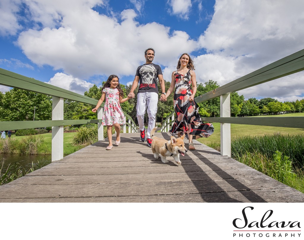 Fagan Park: Family Portrait With a Dog