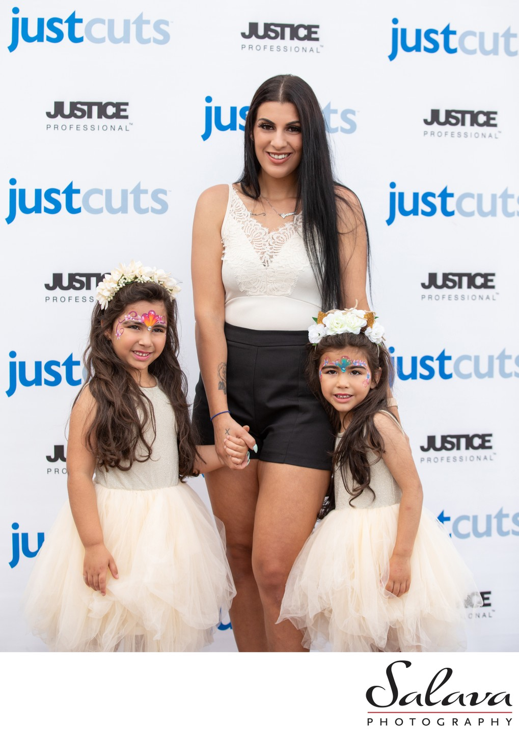 Kids at Just Cuts Event