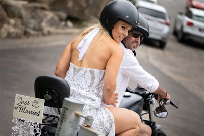 Love on two wheels