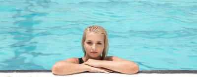 Portrait shoot at Bondi Icebergs Pool