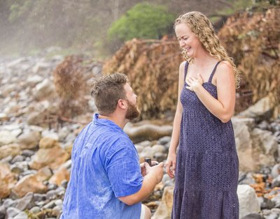 Beach Proposal - Yes
