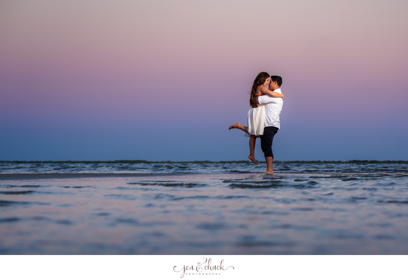 East Beach Engagement Session | Jen & Chuck Photography