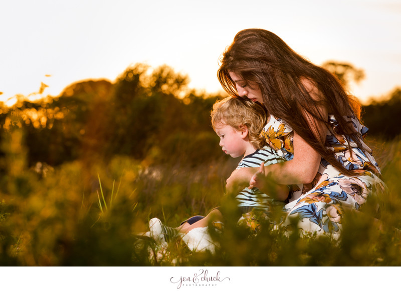 Mother & Son Portraits | Jen & Chuck Photography