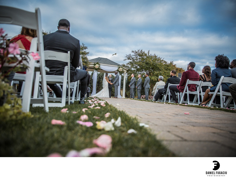 Penn Oaks Golf Club wedding photography