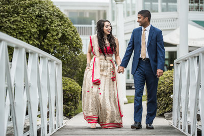 Mansion at Voorhees Indian wedding photographer