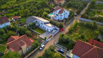 Romania Real Estate Aerial view