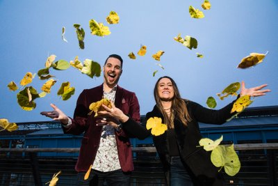 Fall Engagement Session in Philadelphia