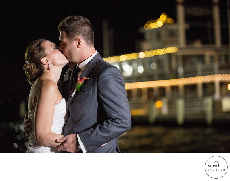 St. Louis Wedding Photographer of Night Portraits