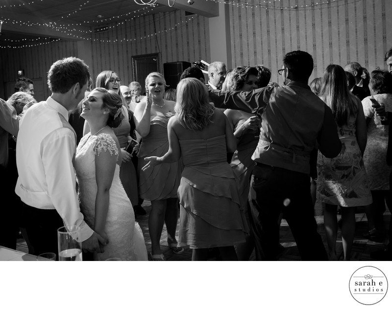 Bride and Groom in St. Louis Dancing at Westborough Country Club