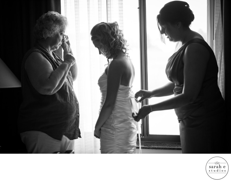Emotional Moment for Mom at a Southern Illinois Wedding