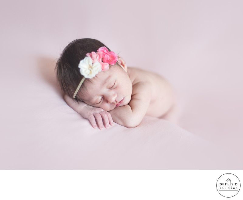 Sweet Newborn Photos in St. Louis