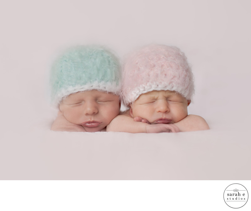 Twin Newborn Photographer in St. Louis