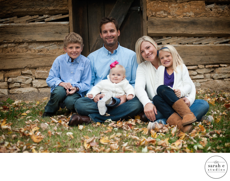 Family Photographers at Faust Park Barn