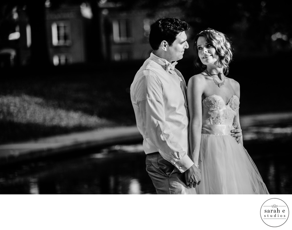 St. Louis County Park Wedding Portrait