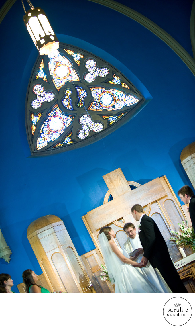 Beautiful Church Wedding Image