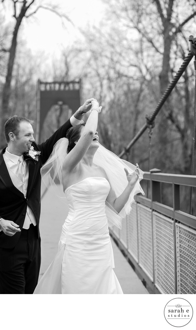St. Louis Wedding Photographer of Candid Moments