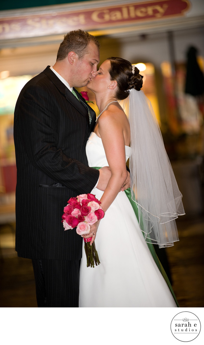 Main Street Wedding Photographer in St. Louis
