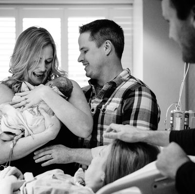 Top St. Louis Photographer of Surrogate Birth Story