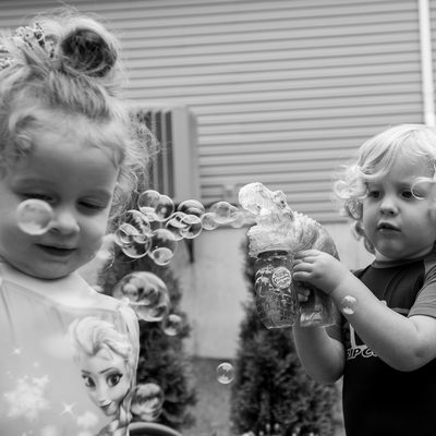 Toddler Documentary Photo of Twins