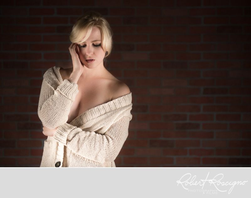 New Jersey boudoir photography Ashley
