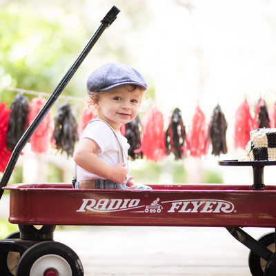 radio flyer kid cake smash photographer broward