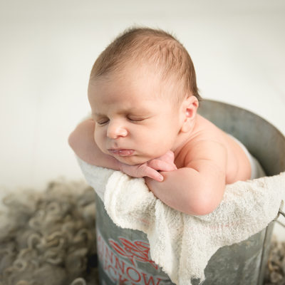 Fort lauderdale fishing baby newborn photographer