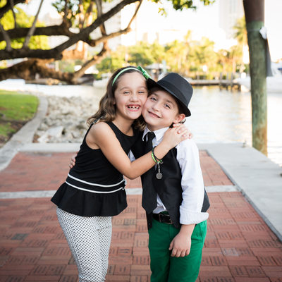 Fort lauderdale Riverwalk family kid photographer