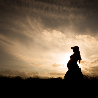 maternity silhouette Hollywood margaritaville photographer