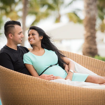 Ritz carlton Hotel maternity photographer Miami Florida