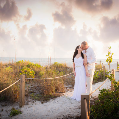 Sanibel Island Florida beach wedding photographer