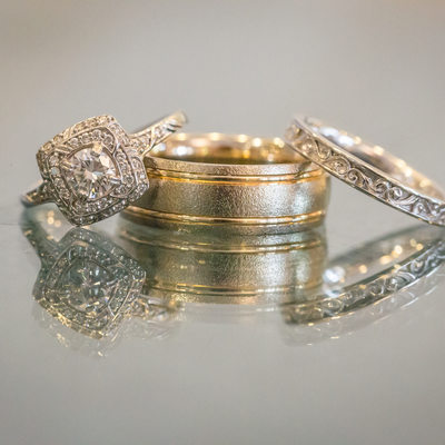 South Fl wedding ring detail photography broward
