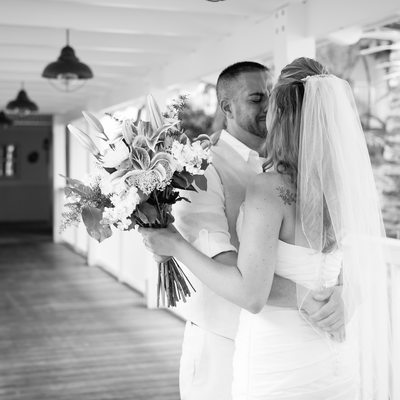 Florida Keys destination wedding photographer first look