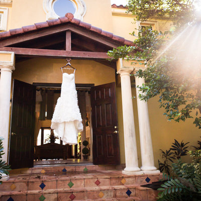 Fort Lauderdale wedding dress photo