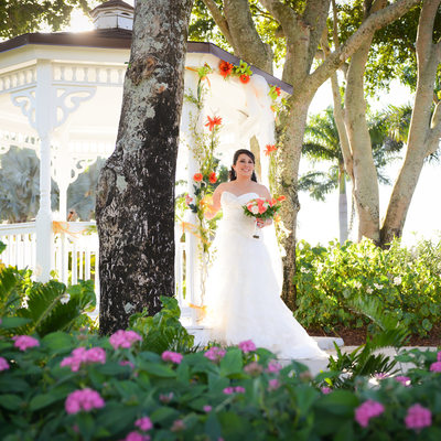 Jacaranda Country Club Plantation Florida wedding