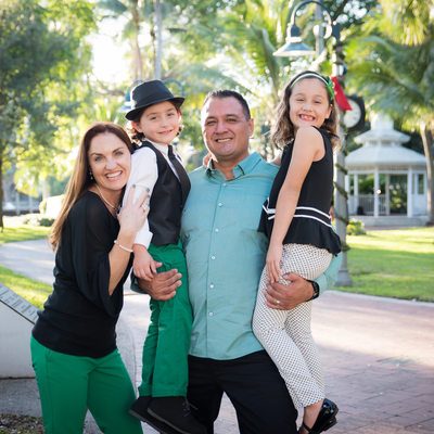Fort Lauderdale family vacation photographer riverwalk