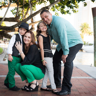 Riverwalk Fort lauderdale lifestyle family photography