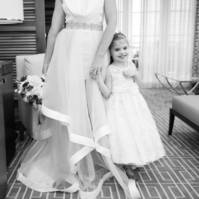 Aventura Turnberry Country club flower girl wedding