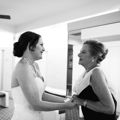 Palm Beach best wedding photographer mother of bride