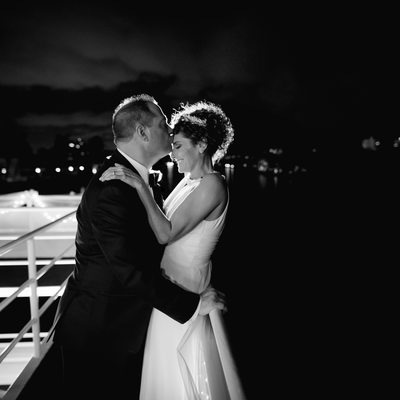 Sundream Yacht wedding Broward wedding photographer
