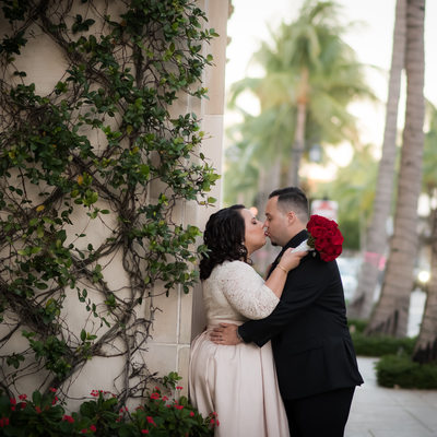 Florida wedding elopement photo