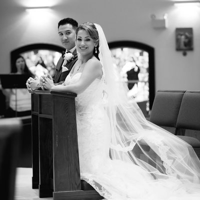 church wedding prayer south florida photographer