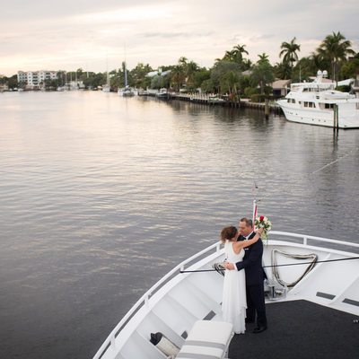 Sundream Yacht wedding Fort Lauderdale Photographer