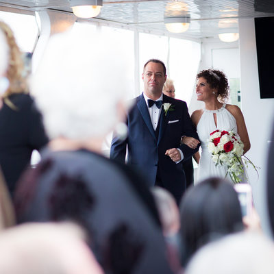 Sundream Yacht wedding ceremony photography