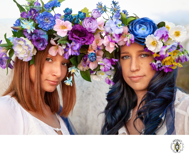 Creative Portrait | Faith and Shianne