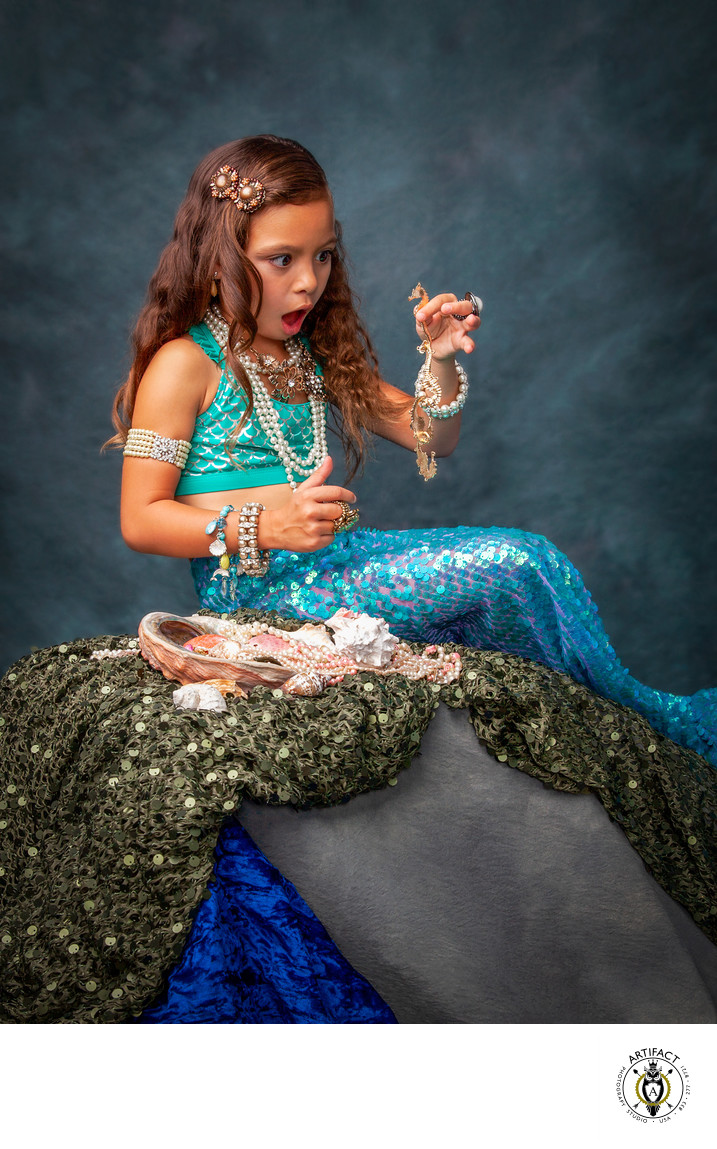 The Little Mermaid at Play | Aliyah