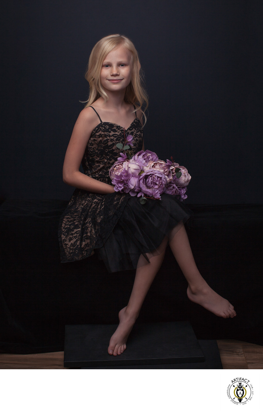Children's Couture Portrait | Campbell