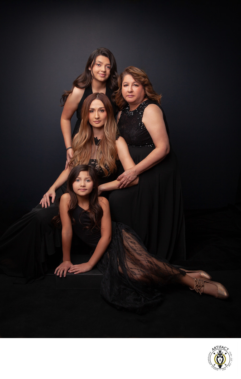 Three Generations Portrait | Claudia and Family