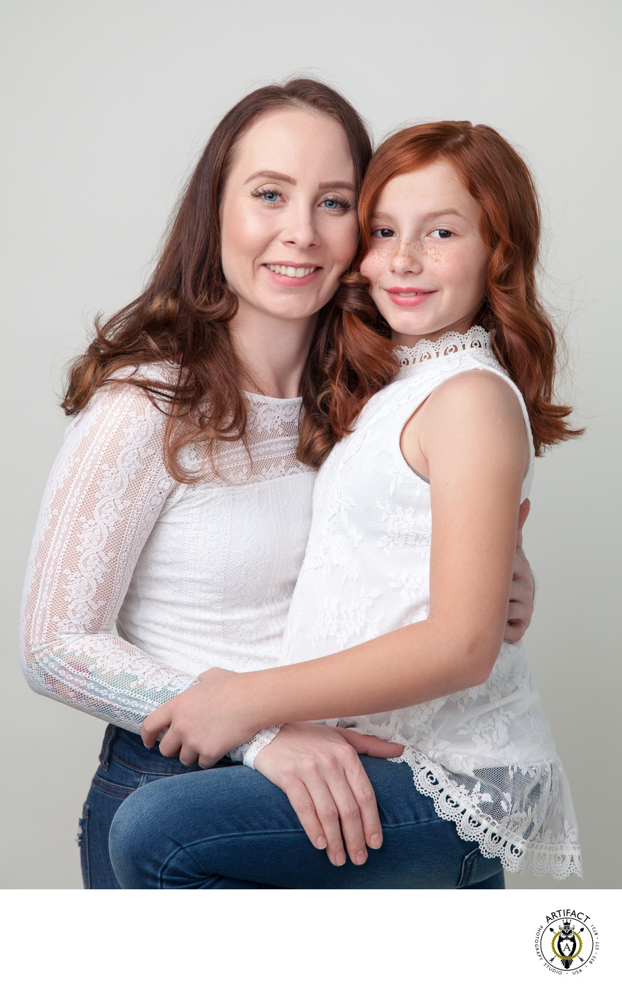 Mother and Daughter Portrait | Rebecca and Abby