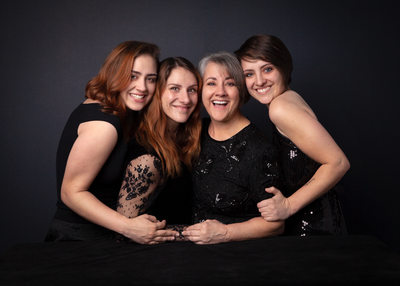 Mother and Daughters Portrait | Dawn