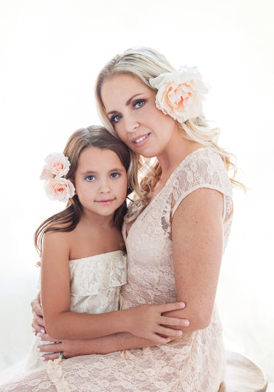 Mother and Daughter Ethereal Portrait | Ali and Coral
